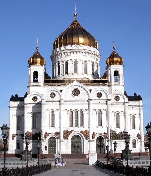 Официальный сайт Московского Патриархата